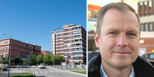 Beskedet från Kammarrätten innebär att Magnus Busk nu kan återuppta planeringen av nya Gävle sjukhus. Bild: TT och Björn Hanérus
