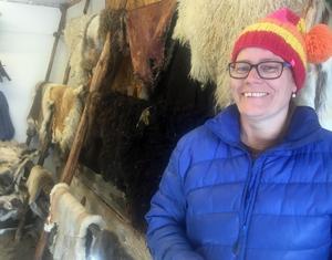 Pernilla Salomonsson, Sedum design, är glad över att hennes företag utsetts till Economusée