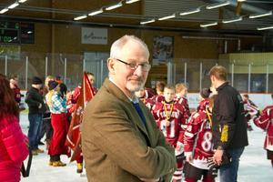 Rolf Laki har varit med i över 15 år och arrangerat Nicklas Lidström Cup.