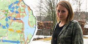 Cathrine Nordlander tycker att informationen från Trafikverket har varit bristfällig. Liksom många av hennes grannar nåddes hon av förslagen i onsdags.