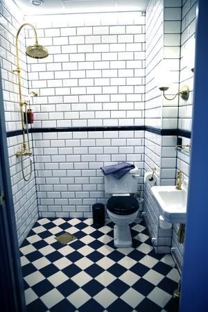 Toaletterna är omsorgsfullt renoverade och inredda.