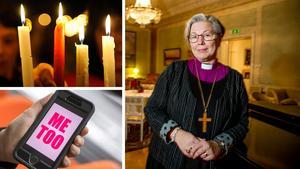 Biskop Eva Nordung Byström är en av personerna som skrivit under Svenska kyrkans upprop mot sexuella trakasserier och övergrepp.Bild: Arkivbild & TT
