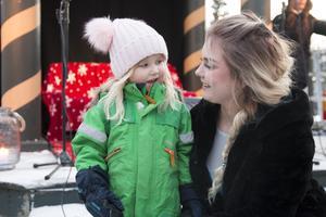 Tilda Stenquist Walterstad hade turen att träffa Elsa (Evelina Jonsson).