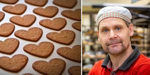 Markus Johannisson har förändrat bageriet på Ica Maxi. I dag används inga mixer eller tillsatser. Foto: Lennye Osbeck