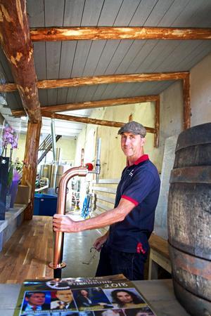 I juli väntas man öppna upp bryggeriet för att kunna anordna ölprovsmakningar för nyfikna människor.