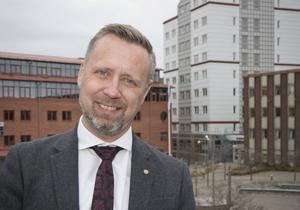 Patrik Isestad (S), kommunstyrelsens ordförande i Nynäshamn.