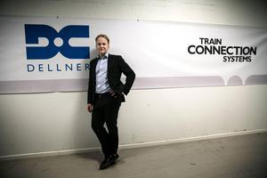 David Pagels, vd för Dellner Couplers, passade på att lyfta frågan om den kompetensbrist som råder i samband med besöket från Svenskt Näringsliv.