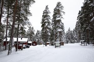 Stångtjärn är ett populärt ställe sommar som vinter.