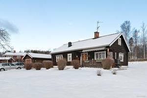 Denna villa i Siljansnäs, Leksands kommun, kom på plats nio på Klicktoppen vecka 3. Foto: Eric Böwes