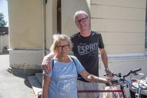 Britt-Louise Lindberg och Thord Lindberg.