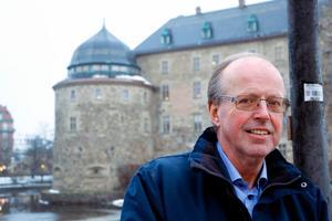 Grängesbördige Lennart Hedberg ser en framtid för både folkparken och Folkets hus. Närmast hoppas han kunna övertyga länsstyrelsen om att byggnadsminnesförklara folkparken.Foto: Caroline Axelsson/Arkiv