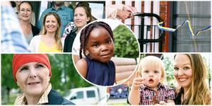 Bilder från invigningen av förskolan.