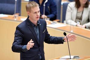 Språkröret Gustav Fridolin kan vara bekymrad över 3,8 procent i SCB-mätningen.Foto: Henrik Montgomery/TT