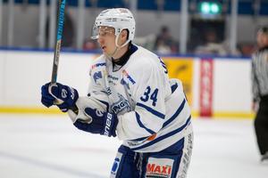 Martin Jörgensen gjorde Köping s enda mål mot Enköping. Han har förhoppningar om att laget kommer lyfta sig när fler  spelare är tillbaka i spel.