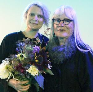 Cathrine och Ulla Skoog vid prisutdelningen