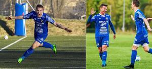Emil Zoltek och William Klasén kan återförenas i Södra till nästa säsong.    Foto: Jörgen Hjerpe/Arkiv