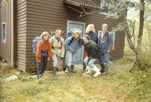 1989 gjorde gänget sin första resa. Den gick till Eva Ovemars fjällstuga i Ljungdalen.