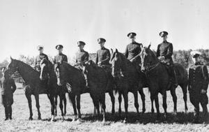 Ridande polis, 1935-1945. Fotograf: Okänd