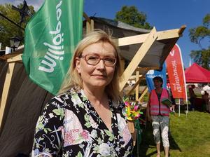 Monika Aune, Nora, kommer från och med 1 augusti att vara miljöpartiets regionråd i Örebro län