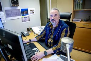 Byggnadsinspektören Richard Hvirfvel.