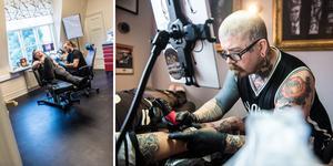 Lördagen den 9 november inviger tatueringsstudion sina nya lokaler längst ned på Storgatan – med drop-in tatuering och en gästartist.