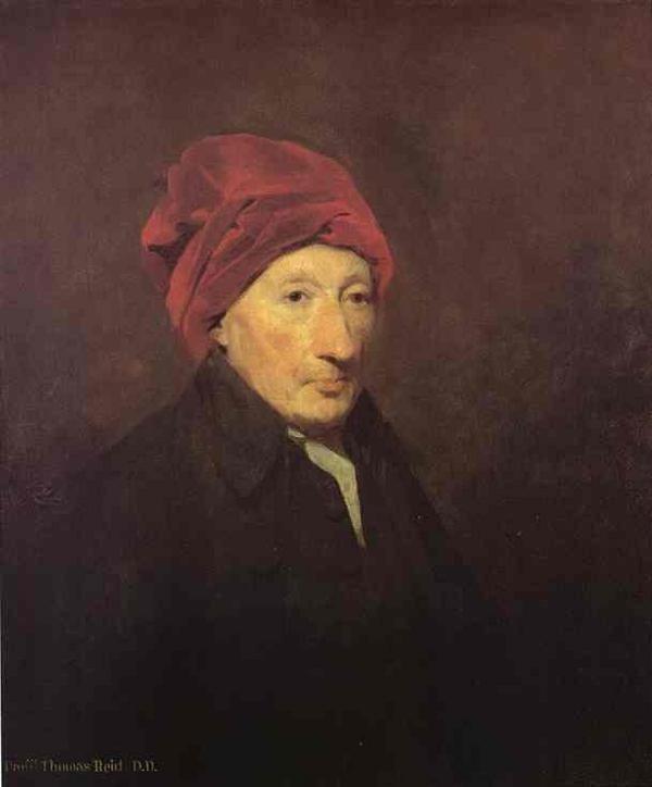 Den skotske filosofen Thomas Reid. Porträtt av Sir Henry Reaburn från 1796.