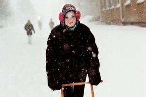 Cathrine Norén 1998 rejält påklädd.