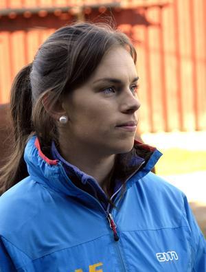 Annelie Eriksson hoppas att det svenska laget ska knipa en topp fem-placering.