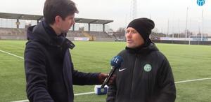 Thomas Askebrand i VLT-sportens livesändning.