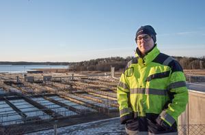 Snart stoppas mediciner här innan de rinner ut i Himmerfjärden. Det är målet för en studie som nu har påbörjats i Himmerfjärdsverket, berättar Victor Kårelid.