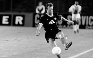 Hans Holmqvist var tillbaka på sin gamla hemmaarena där han spelade för Fortuna Düsseldorf.