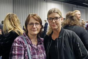 Sandra Svensson och Chris Nolén från Västerås tyckte det var bra med upplysning om människokroppen.