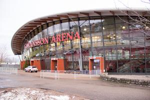 Prisutdelningen kommer att ske här i Göransson Arena i pausen i bandymatchen mellan SAIK och Bollnäs.