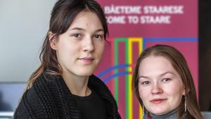 Katarina Barruk till vänster och Marja Fjellheim Mortensson.