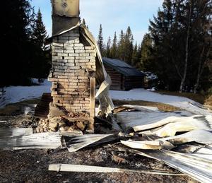 – Jag kan inte se annat än att någon måste bränt ned fäbodstugorna, säger Håkan Jonsson.