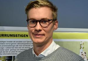 Stadsmiljöchef Gustaf Karlsson menar att Sportfältet kan utvecklas som mötesplats.