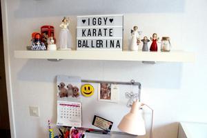 En av Iggys planer är att bli karate-ballerina.