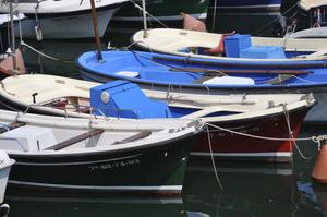 Fiskebåtar i Lekeitio.