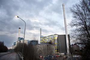 Dubbla budskap från S om kraftvärmeverk? Foto: Arkivbild