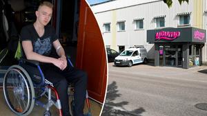 Alexander Kronholm skadades allvarligt på Yoump i början av sommaren.