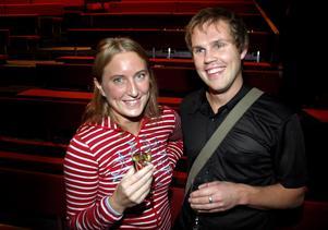 År 2003. Lina Petersén och Conny Petersén på Culturen. Foto: Anders Forngren