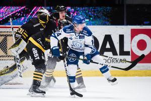 Oskar Lang saknar i Leksands lag mot SSK. Foto: Simon Hastegård / Bildbyrån