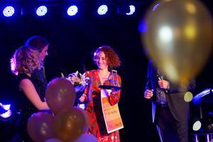 Hovslagaren Elin Nordmark vann klassen Årets unga företagare.