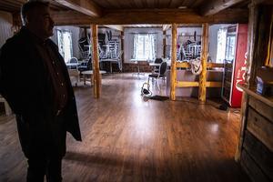 Campingen i Ramsjö drevs tidigare av Dan och Iwona Jönsson. I dag är lokalerna oanvända.