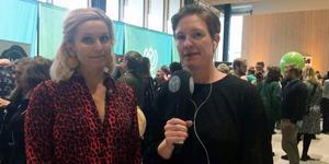 Tina Nordström och LT:s reporter Monika Nilsson Lysell.