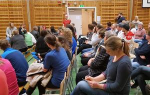 Alla var överens om att byskolorna är viktiga för Leksands möjlighet att växa och utvecklas. (foto: Marko Pulkkinen)