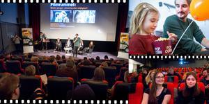 Filmfestivalen har pågått sedan i onsdags och pågår fram till söndag. Här hälsar festivalgeneralen Andreas Fock välkommen.