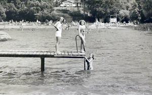 Under värmeböljan 1990 badade många västeråsare vid Framnäs.