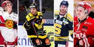Mora och Timrå är bland de värsta, vad gäller spelaromsättning i ligan. VIK ligger högt på listan, liksom SSK. Foto: Bildbyrån