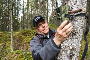 Lars Wiklund, viltförvaltare på Länsstyrelsen i Västernorrland. Bild: Leif Wikberg